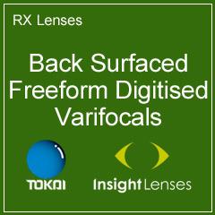 Back Surfaced Freeform Digitised Varifocals