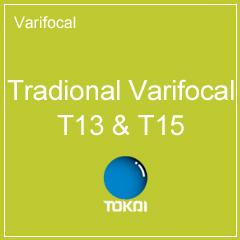 Tradional Varifocal T13 & T15
